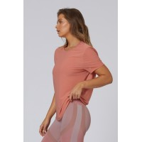 LUrv Deep Breaths Mesh Top - Sherbert