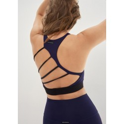 Body Language Sportswear Margo Bra - Blue/Black