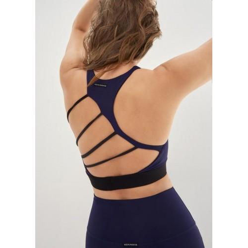 Body Language Sportswear Margo Bra - Blue/Black