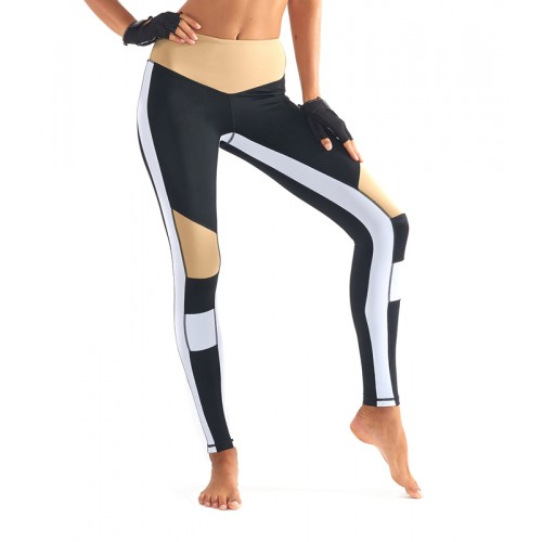 LUrv Burn it Up Legging - Black/White